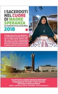 CALENDARIO MADRE SPERANZA 2018