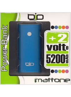POWERBANK 5200 MAH BLU