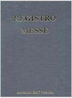 REGISTRO MESSE ITALIANO