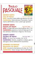 TRIDUO PASQUALE - POSTER