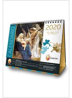 Calendario Liturgico Mariano 2020.Calendario Da Tavolo Un Anno Con Gli Angeli 2020