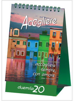 Calendario 2020 Da Colorare Per Bambini.Accogliere Calendario 2020 Da Tavolo Apostoline