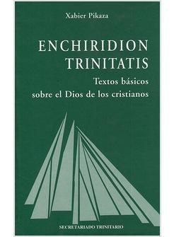 Resultado de imagen de Pikaza, Enchiridion Trinitatis