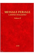 MESSALE FERIALE LATINO-ITALIANO VOLUME II