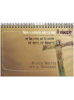 CAMPO SCUOLA AD ASSISI BLOCK NOTES