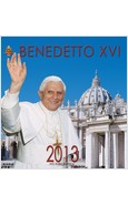 CALENDARIO 32 X 34 BENEDETTO XVI 2013