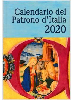 Calendario Filosofico 2020 Dove Si Compra.Calendario Del Patrono D Italia 2020