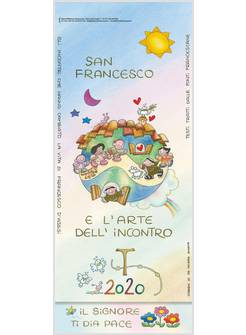 Calendario Filosofico 2020 Dove Si Compra.Calendario Da Muro San Francesco L Arte E L Incontro 2020