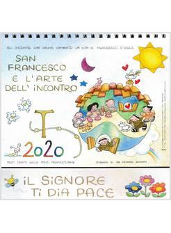 Calendario Religioso 2020.Calendario Da Tavolo 2020 San Francesco E La Rte Dell Incontro