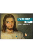 CALENDARIO A STRAPPO GESU' CONFIDO IN TE 2015