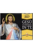 CALENDARIO 2017 GESU' CONFIDO IN TE