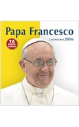 CALENDARIO CM 31 X 33 PAPA FRANCESCO 2017 SFONDO MARRONE