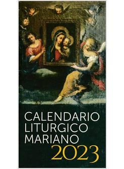 Calendario Liturgico Mariano 2020.Calendario Liturgico Mariano 2020