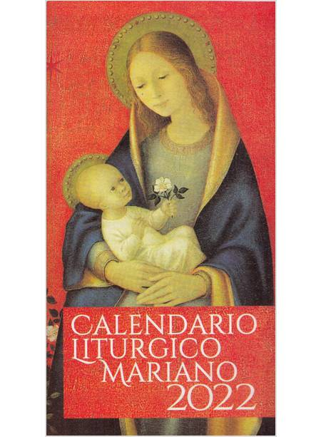 Calendario Liturgico Mariano 2021   Monfortani