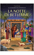 LA NOTTE DI BETLEMME CALENDARIO DELL'AVVENTO 3D PRESEPE POP-UP