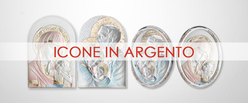 Icone in Argento Sconto 50%